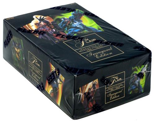 Marvel 1994 Flair Inaugural Edition Trading Card Box [24 Packs]