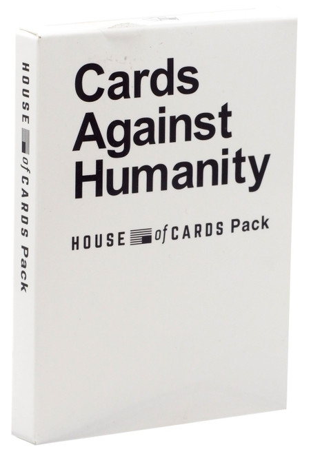 Cards Against Humanity House of Cards Pack Card Game Expansion