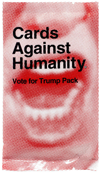 Cards Against Humanity Vote for Trump Card Game Expansion