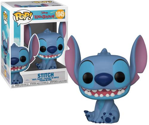 Funko Lilo & Stitch POP! Disney Stitch Vinyl Figure [Smiling, Seated] (Pre-Order ships June)