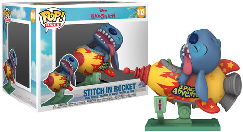 Funko Disney Lilo & Stitch POP! Rides Stitch Vinyl Figure [in Rocket]