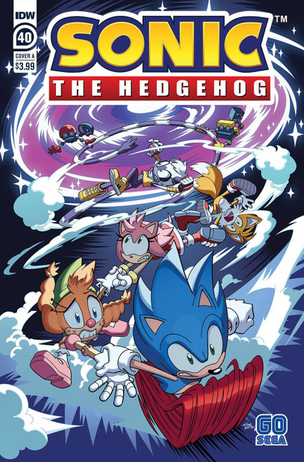 IDW Sonic The Hedgehog #40 Comic Book [Cover A Tracy Yardley]