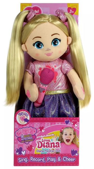 Love, Diana Diana Popstar 15-Inch Plush Doll