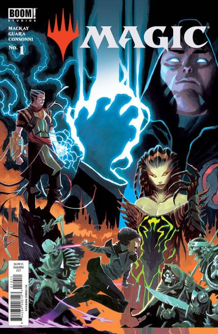 Boom! Studios Magic: the Gathering #1 Comic Book [Cover A Scalera]