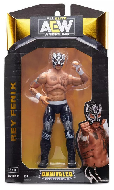 AEW All Elite Wrestling Unrivaled Collection Series 2 Rey Fenix Action Figure