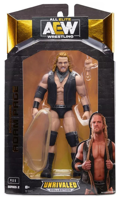 AEW All Elite Wrestling Unrivaled Collection Hangman Adam Page Action Figure