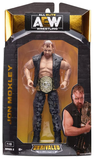 AEW All Elite Wrestling Unrivaled Collection Jon Moxley Action Figure