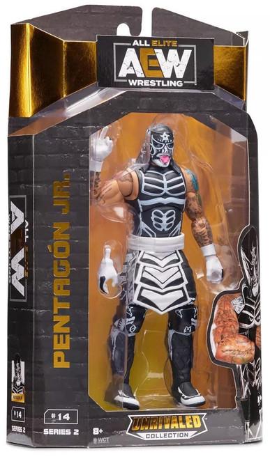 AEW All Elite Wrestling Unrivaled Collection Pentagon Jr. Action Figure