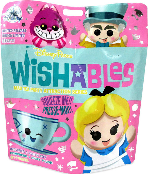 Disney Wishables Mad Tea Party Attraction Series Exclusive 4-Inch Micro Plush Mystery Pack [1 RANDOM Figure]