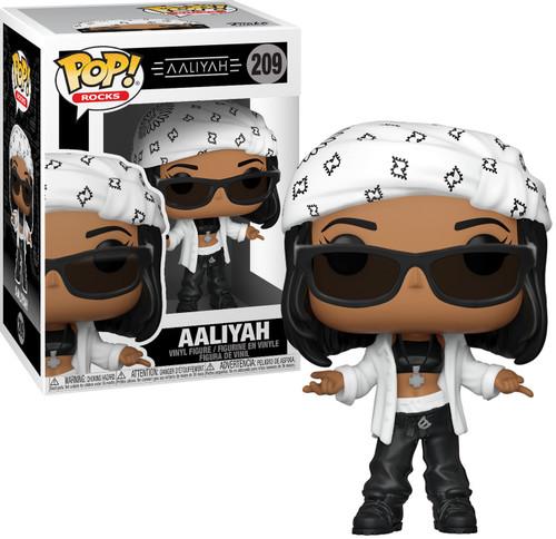 Funko POP! Rocks Aaliyah Vinyl Figure #209 (Pre-Order ships March)