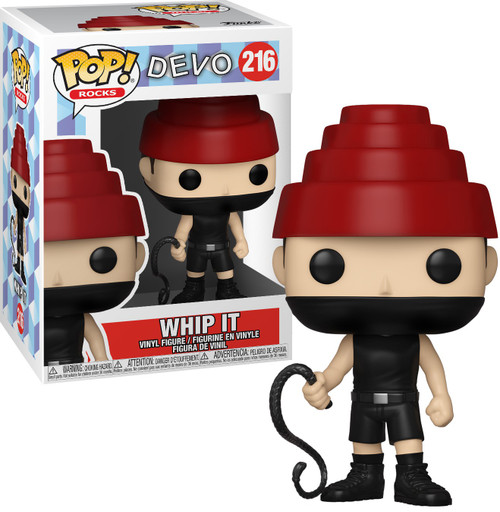 Funko Devo POP! Rocks Whip It Vinyl Figure #216 [with Whip]