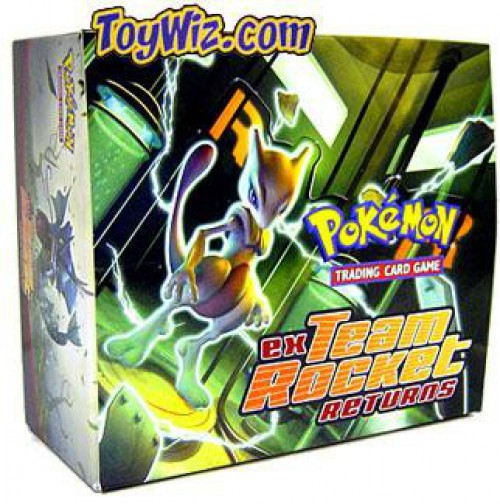 Pokemon Trading Card Game EX Team Rocket Returns Booster Box [36 Packs]