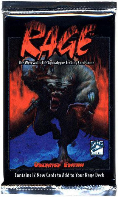 Rage Trading Card Game Base Set Booster Pack [12 Cards]