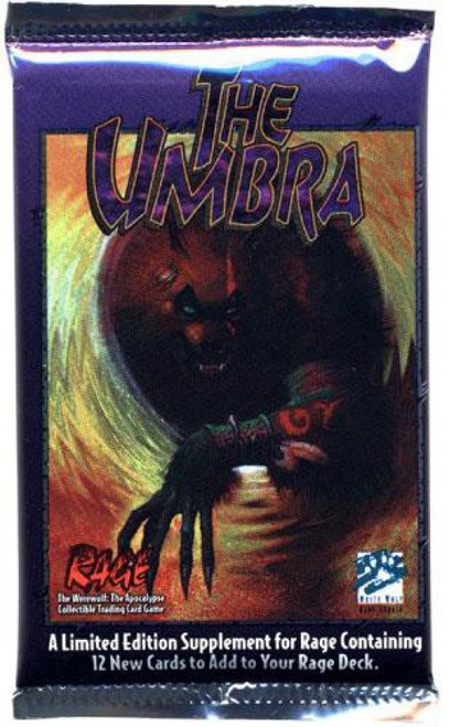 Rage Trading Card Game The Umbra Booster Pack [12 Cards]