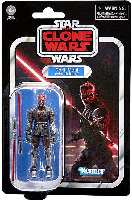 Star Wars The Clone Wars 2020 Vintage Collection Wave 7 Darth Maul Action Figure (Pre-Order ships February)