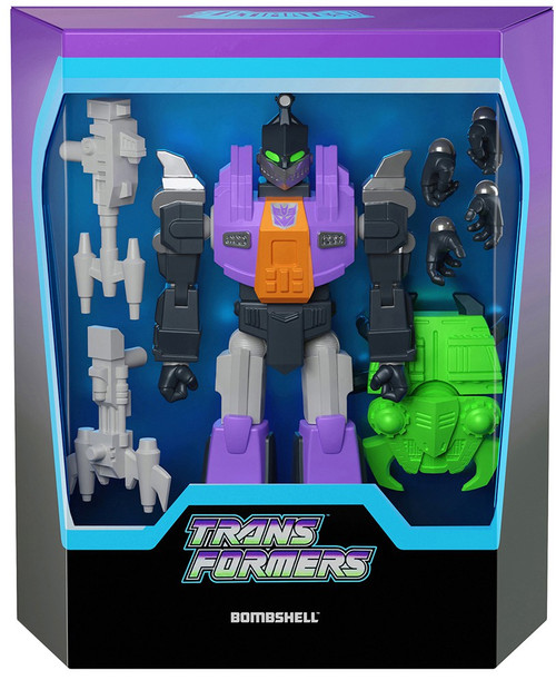ReAction Transformers Ultimates BombShell Action Figure (Pre-Order ships November)