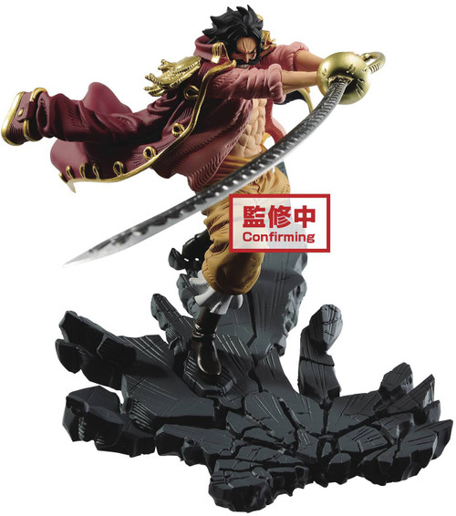 One Piece Manhood Gol D. Rodger 4-Inch Collectible PVC Figure [Version A] (Pre-Order ships August)