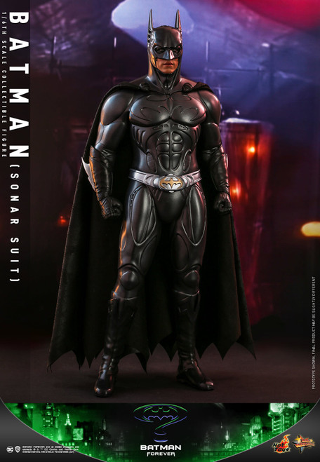 Batman Forever Movie Masterpiece Batman (Sonar Suit) Collectible Figure [Val Kilmer] (Pre-Order ships June 2022)