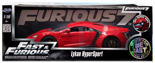 The Fast and the Furious Lykan HyperSport Diecast Car