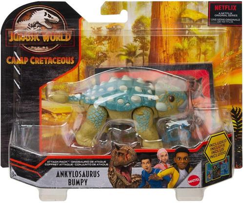 Jurassic World Camp Cretaceous Attack Pack Ankylosaurus Bumpy Action Figure
