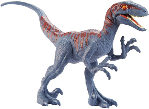 Jurassic World Attack Pack Velociraptor Action Figure [Blue & Red]