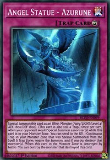 YuGiOh Blazing Vortex Super Rare Angel Statue - Azurune BLVO-EN079