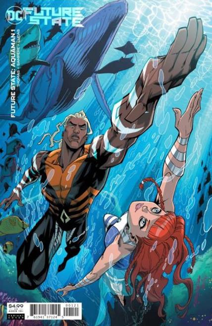 DC Comics Future State: Aquaman #1B Comic Book