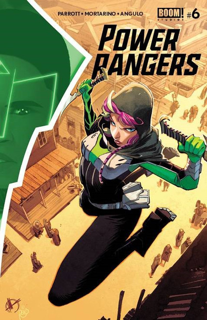 Boom Studios Power Rangers #6 Comic Book [Cover A Scalera]