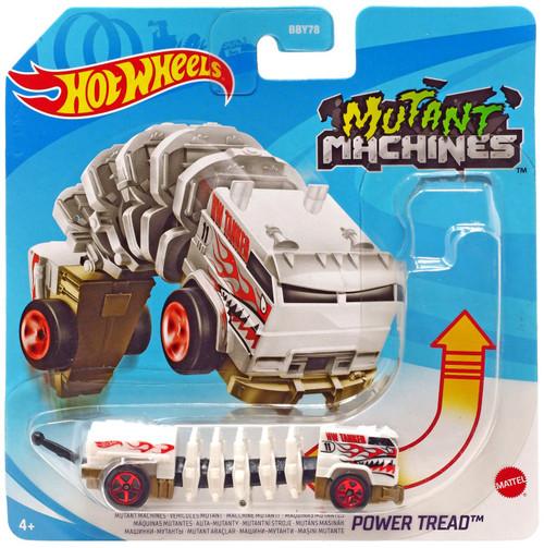 Hot Wheels Mutant Machines Power Tread Diecast Car