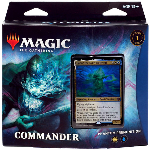 MtG Trading Card Game Kaldheim Phantom Premonition Commander Deck