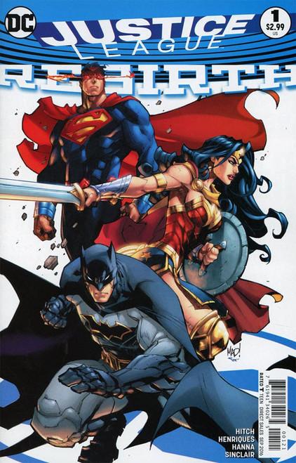 Justice League Rebirth #1 Comic Book [Joe Madureira Variant]