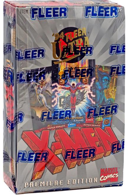 Marvel 1994 Fleer Ultra X-Men Trading Card Box [36 Packs]