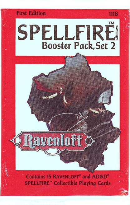 Dungeons & Dragons Spellfire Ravenloft Booster Pack [1st Edition]