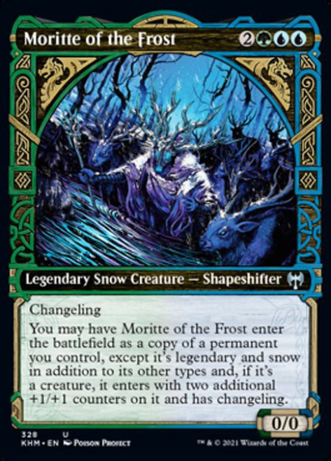 MtG Kaldheim Uncommon Moritte of the Frost #328 [Showcase]