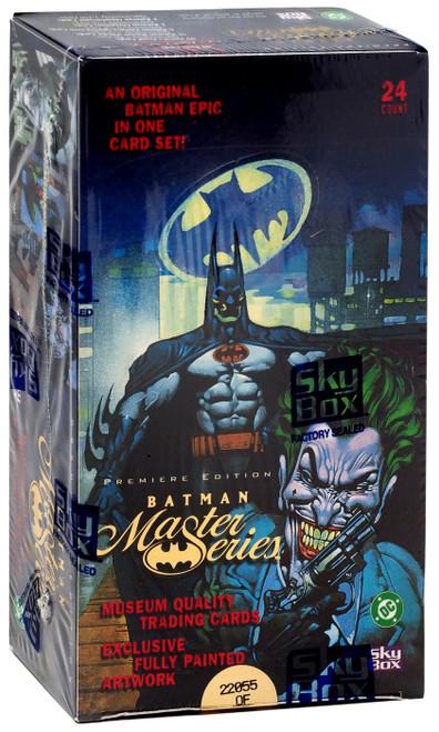 DC Batman Master Series Trading Card HOBBY Box [Premiere Edition, 24 Packs]