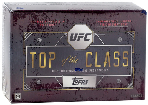 UFC Topps 2016 Top of the Class Trading Card HOBBY Box [2 Autographs & 1 Jumbo Relic!]