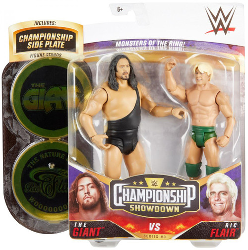 WWE Wrestling Championship Showdown Series 3 Giant vs Ric Flair Action Figure 2-Pack (Pre-Order ships May)