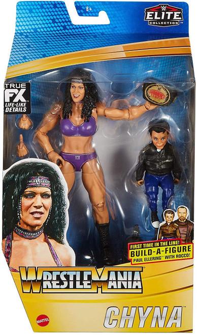WWE Wrestling Elite Collection WrestleMania Chyna Action Figure [Women's Championship & Paul Ellering & Rocco Build-A-Figure Piece!]