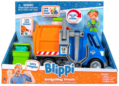 Blippi Recycling Truck Vehicle [Damaged Package]