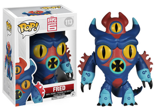 Funko Big Hero 6 POP! Disney Fred Vinyl Figure #113 [Damaged Package]