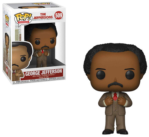 Funko The Jeffersons POP! TV George Jefferson Vinyl Figure #509 [Damaged Package]