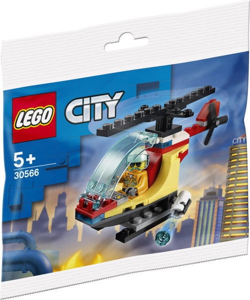 LEGO City Fire Helicopter Mini Set #30566