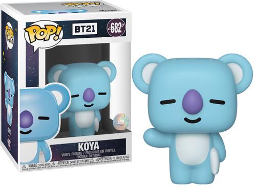 Funko BT21 Line Friends POP! Animation Koya Vinyl Figure #682 [Damaged Package]