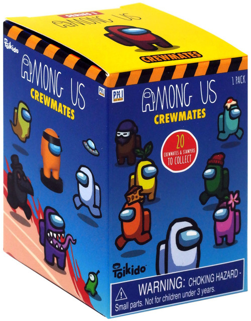 Among Us Crewmate Stampers Mystery Pack [1 RANDOM Figure]