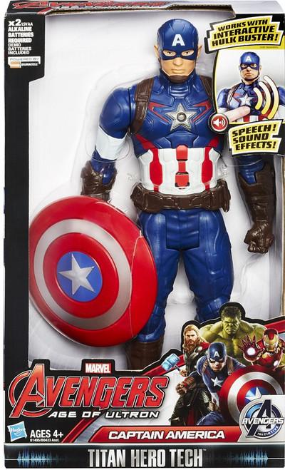 Marvel Avengers Age of Ultron Titan Hero Tech Captain America Action Figure [Electronic]