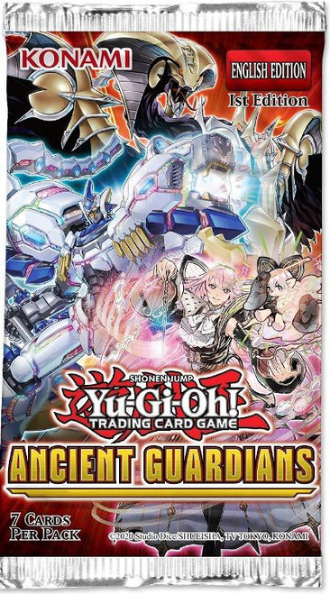 YuGiOh Trading Card Game Ancient Guardians Booster Pack [7 Cards]