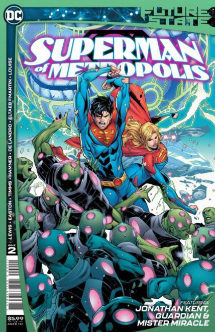 DC Comics Future State: Superman of Metropolis #2 Comic Book