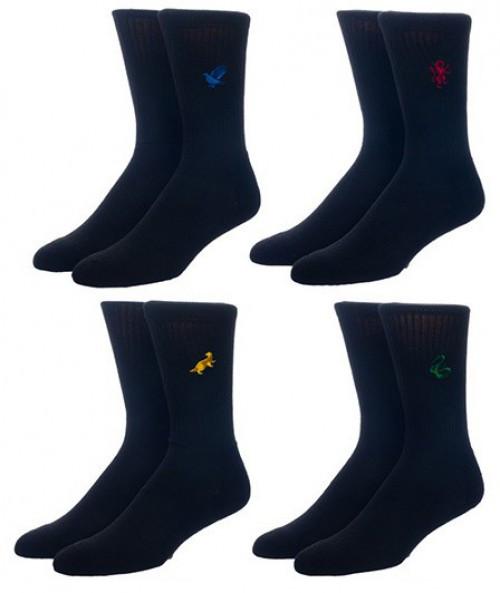 Harry Potter House Symbols Crew Socks 4-Pack