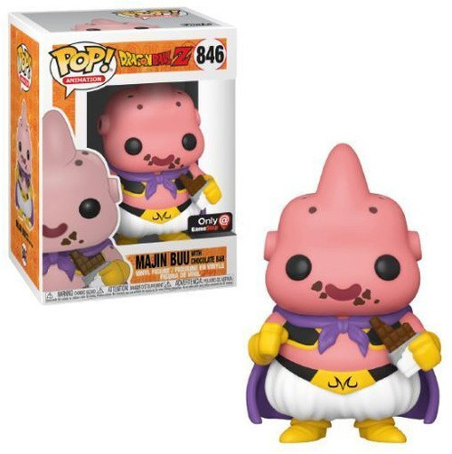 Funko Dragon Ball Z POP! Animation Majin Buu Exclusive Vinyl Figure #846 [with Chocolate Bar]