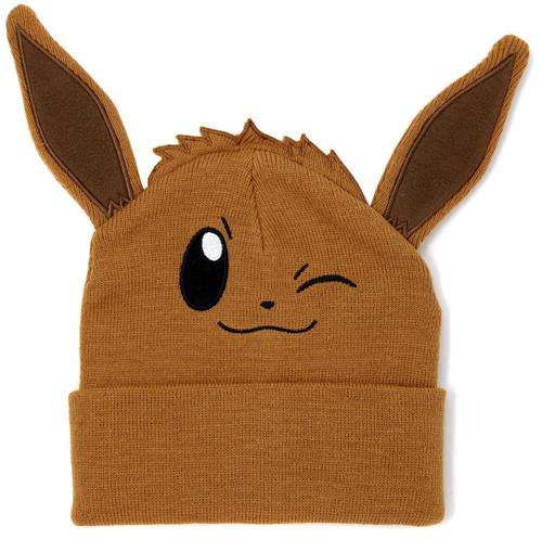 Pokemon Eevee Big Face Beanie Hat [Winking]